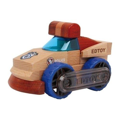 деревянные игрушки Машинка Полиция