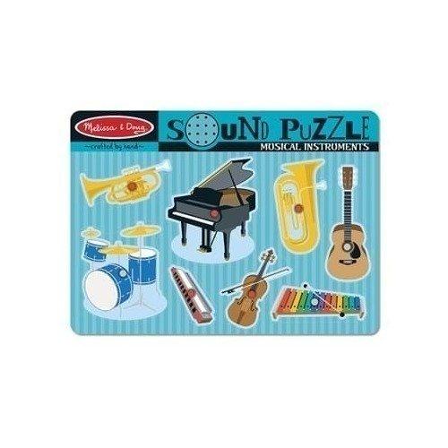 Звуковой пазл Музыкальные инструменты цена