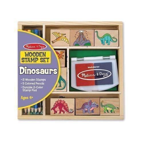 Набор печатей Динозавры набор печатей melissa