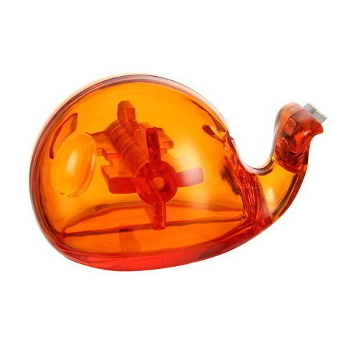 """Диспенсер для скотча """"Кит"""", оранжевый el casco подставка для скотча"""