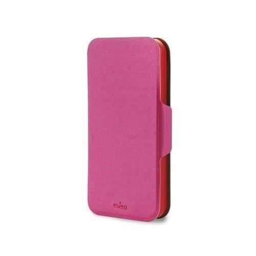 лучшая цена Чехол PURO для iPhone 5/5s красно-розовый