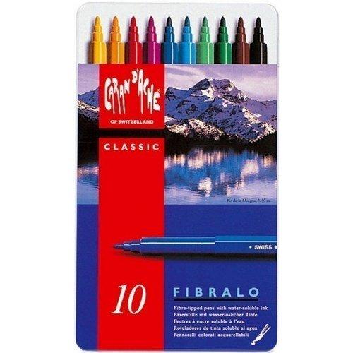 Набор цветных фломастеров Fibralo набор цветных фломастеров fibralo акварель 30 цветов