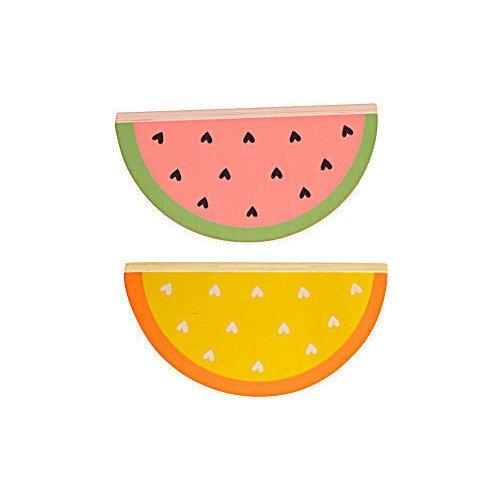 """Кубики деревянные """"Watermelon"""", A little lovely company, Игрушки для малышей  - купить со скидкой"""
