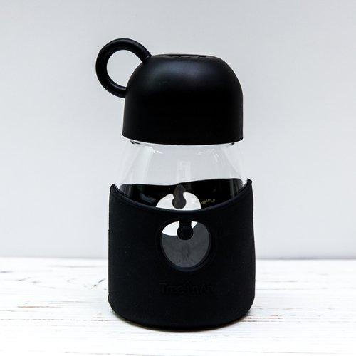 Бутылочка Geometry, 350 мл, черная бутылочка с системой подачи лекарства грудничку adiri md 118 мл