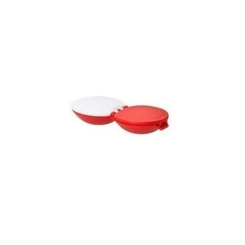 Футляр для контактных линз Pantone, красный цветовые карты pantong pantone gg1304