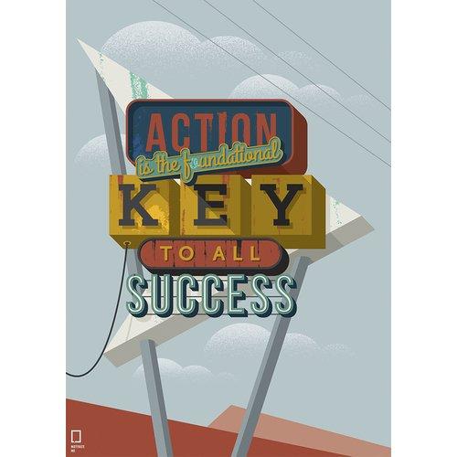 Принт Key А3 постер картина принт нимфа