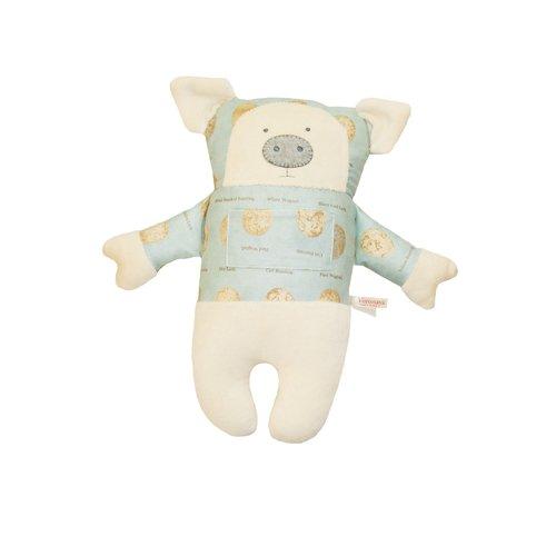 Купить Мягкая игрушка Поросенок , 35 см, Voronaya, Мягкие игрушки