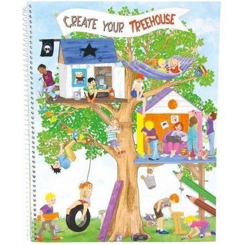 Альбом Создай свой дом на дереве, 25 х 31 см