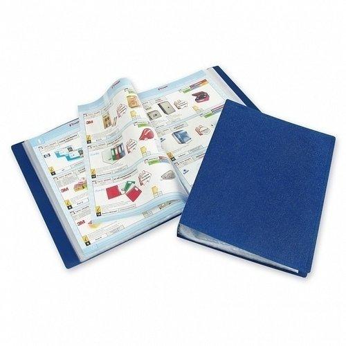 Фото - Папка файлов KT-30/045, синяя папка с файлами inформат а4 20 файлов черный пластик 500 мкм карман