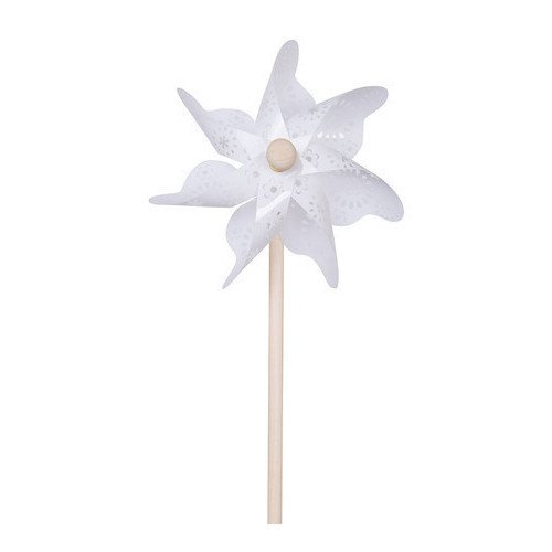 """Ветрячок """"Белые узоры"""", 31 см"""