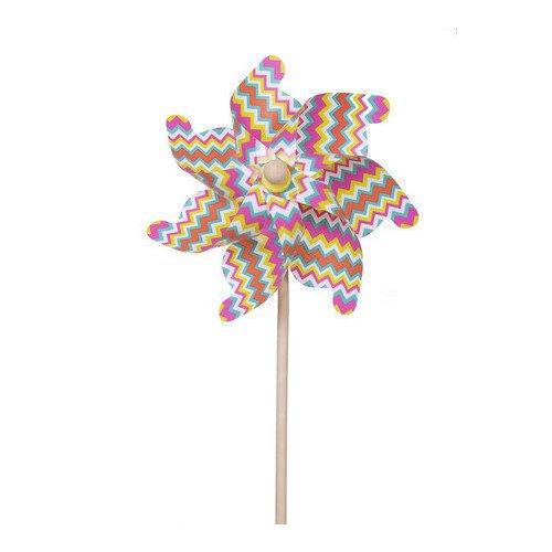 """Ветрячок """"Цветные линии"""", 75 см fresh trend вертушка ветрячок бабочки"""