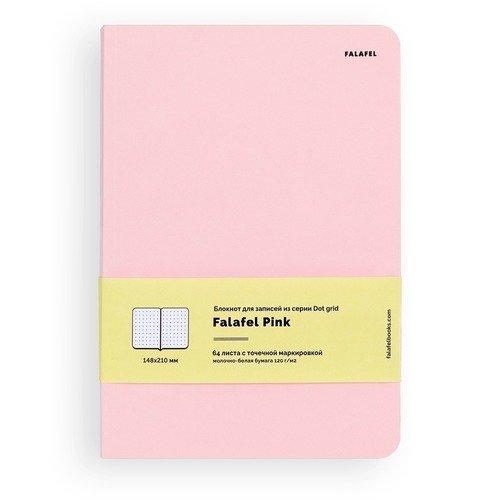 Блокнот для записей Pink A5, 128 стр., в точку