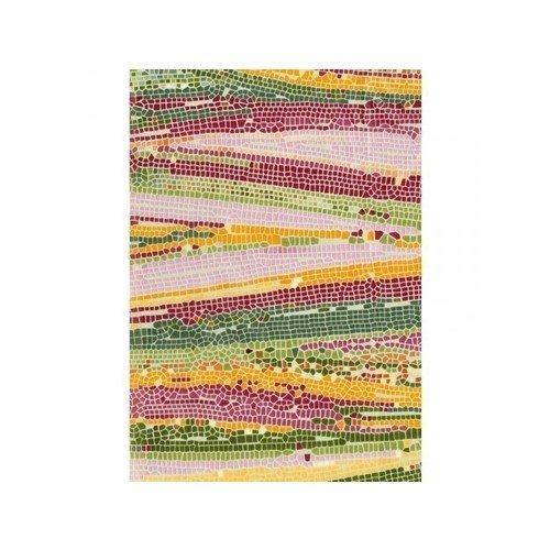 Бумага для декопатча Мозаика зелено-малиновая черная речка бумага для техники decopatch 30 40 горошек клетка коричн