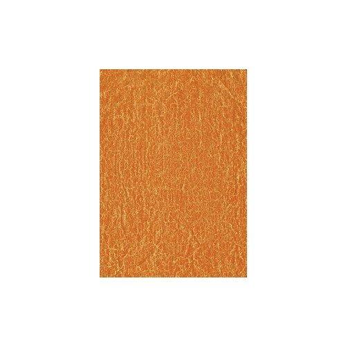 Бумага для декопатча Мятая оранжевая черная речка бумага для техники decopatch 30 40 горошек клетка коричн