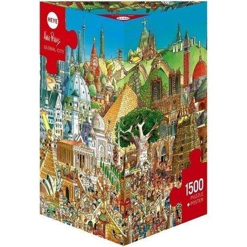Пазл Всемирный город, 1500 элементов
