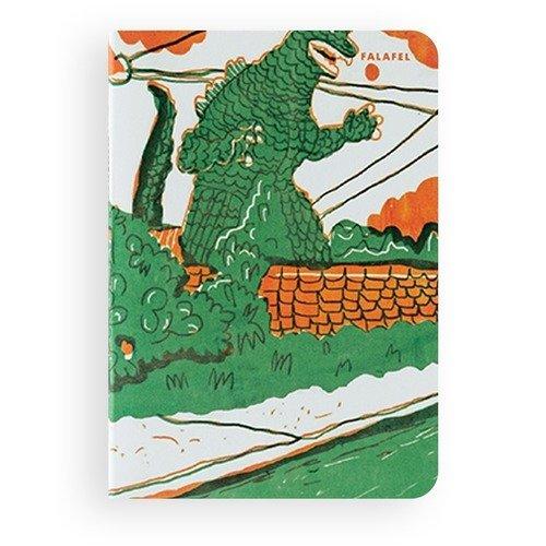 Блокнот Godzilla А6, 40 листов, 95 х 138 мм блокнот dark grey а6 40 листов 80 г м2