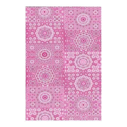 Бумага для декопатча 631 Цветочки из точек розовые, 30 х 39 см черная речка бумага для техники decopatch 30 40 горошек клетка коричн
