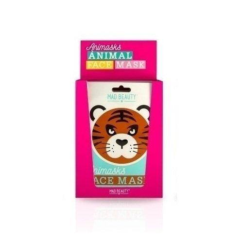 """Успокаивающая маска для лица """"Animasks Face Masks. Tiger"""""""