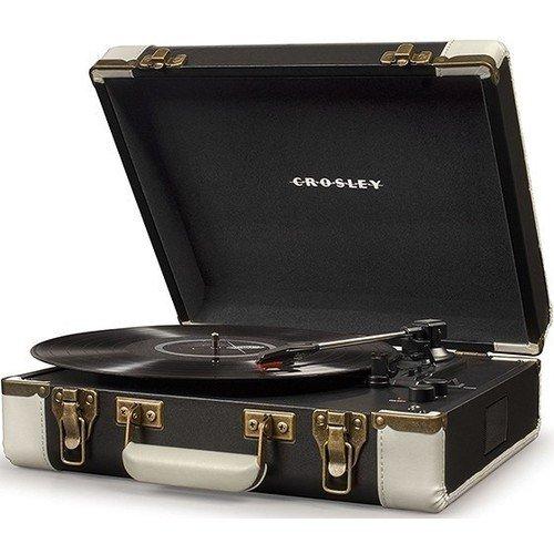 Виниловый проигрыватель Executive Deluxe CR6019D-BK crosley executive brown black