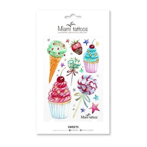 Татуировки переводные Sweets