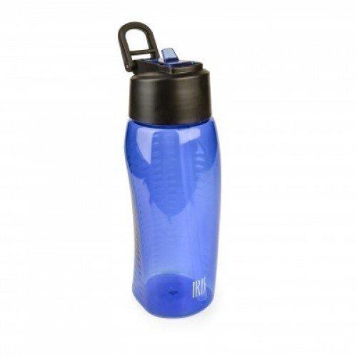 Фляжка пластиковая, 650 мл, синяя фляжки сувенирные
