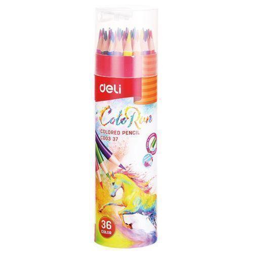 Карандаши цветные Colo Run mattel карандаши цветные enchantimals 18 цветов