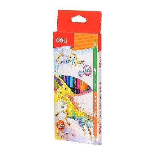 Карандаши цветные Colo Run цветные карандаши stabilo aquacolor 24 цвета