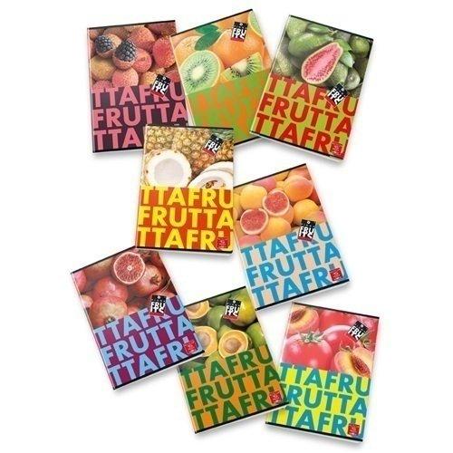 Тетрадь на скрепке Fruits еж стайл тетрадь park tour 02 44 листа в линейку