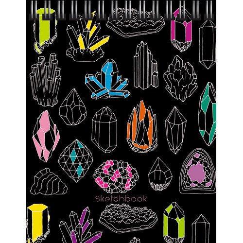 Скетчбук Гора самоцветов А6+, 80 листов, 100 г/м2, 12,5 х 16 см скетчбук взрыв эмоций графика а6 80 листов нелинованная