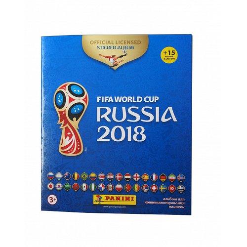 Альбом для наклеек Чемпионат мира по футболу FIFA 2018 c наклейками удивительные динозавры альбом 250 наклеек