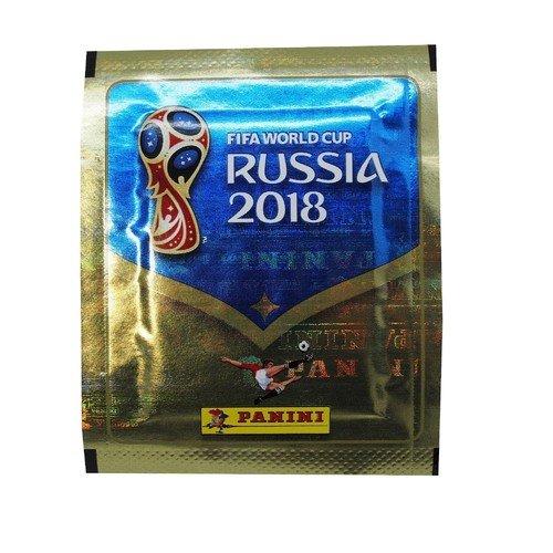 Фото - Наклейки Чемпионат мира по футболу FIFA 2018, 8 х 10 см, в ассортименте panini альбомы panini кхл сезон 2018 19 чемпионат мира по футболу 2018