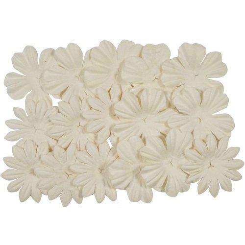 Набор цветков из шелковичной бумаги, 20 шт.