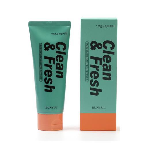 Маска-пленка сужающая поры Clean & Fresh Pore Tightening Peel Off Pack маска caolion premium blackhead o2 bubble pore pack объем 50 г