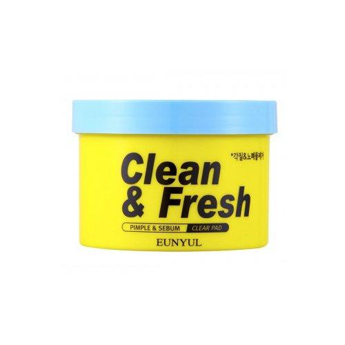 Очищающие диски с кислотами Clean&Fresh очищающие кремы