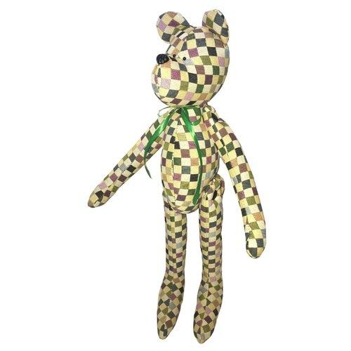 Купить Мягкая игрушка Медведь Испанская клетка , 50 см, Mgtoys, Мягкие игрушки
