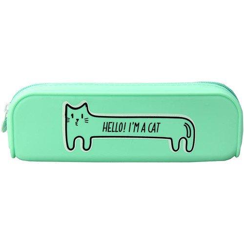 """купить Пенал-косметичка """"Hello! I'm a cat"""" по цене 1180 рублей"""
