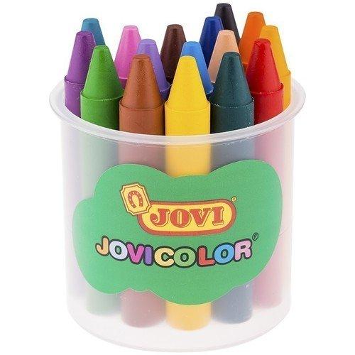 Карандаши восковые JOVI карандаши jovi восковые с точилкой и ластиком 12 цветов