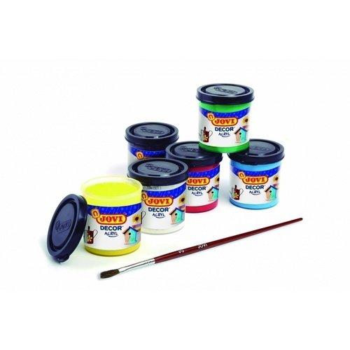 Краски акриловые JOVI краски jovi краски для рисования руками jovi 5 цв 35 мл