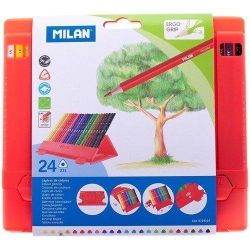 Карандаши цветные, 24 цвета цветные карандаши stabilo aquacolor 24 цвета