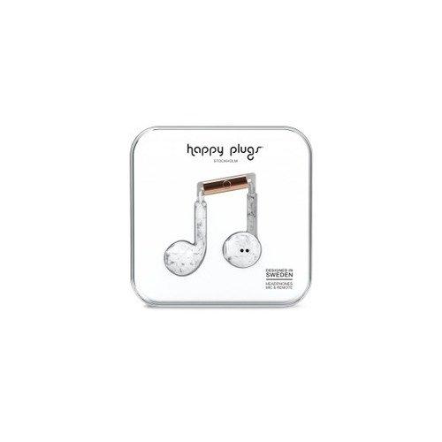 "цены на Наушники ""Happy Plugs Earbud Plus White Marble""  в интернет-магазинах"
