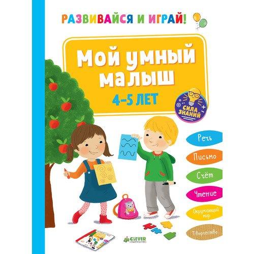 Развивайся и играй! Мой умный малыш. 4-5 лет цена в Москве и Питере