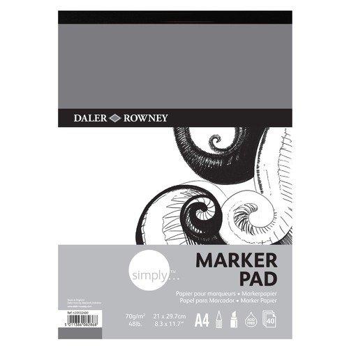 Альбом для маркеров Simply альбом для маркеров и фломастеров brauberg 30 42 см 40 листов