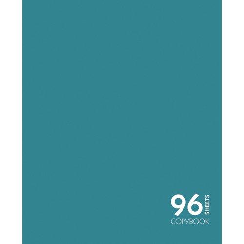 """купить Тетрадь """"Сияние цвета. Елово-зеленый"""" А5, 96 листов, в клетку по цене 100 рублей"""