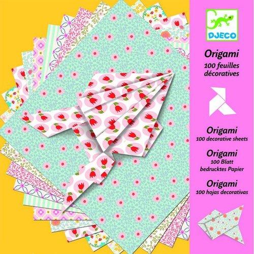 Купить Оригами (100 листов), Djeco, Наборы для творчества