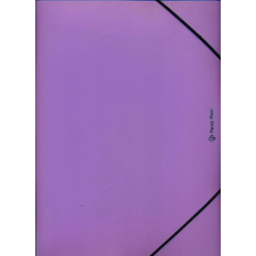 Папка на резинке Fokus А4, фиолетовая