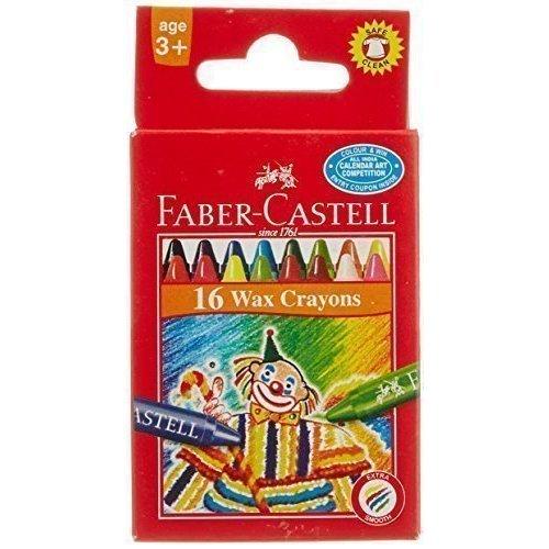 Восковые карандаши Клоун восковые карандаши клоун набор цветов в картонной коробке 16 шт