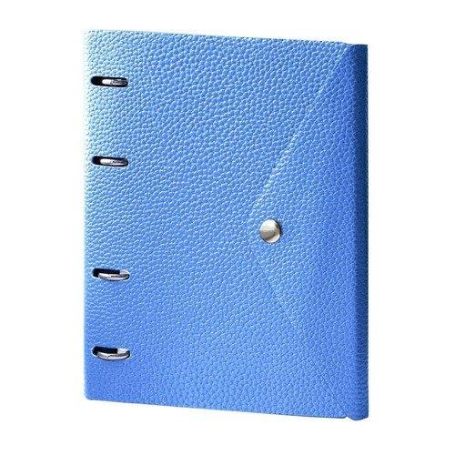 """Тетрадь """"Cassy"""", 120 листов, в клетку, 18 х 21,2 см, синяя marker тетрадь дрова 100 листов в клетку цвет коричневый"""