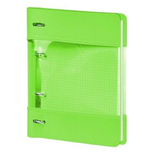"""Тетрадь """"Neon"""", 120 листов, в клетку, 17,5 х 21,2 см, зеленая"""