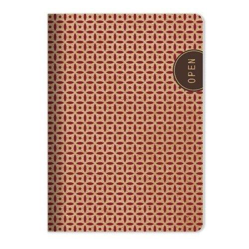 """Тетрадь """"Eco"""", 48 листов, в клетку, 15 х 21 см, красная marker тетрадь дрова 100 листов в клетку цвет коричневый"""