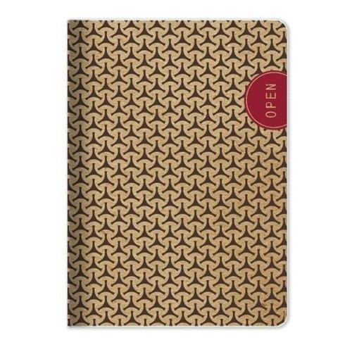 Тетрадь Eco, 48 листов, в клетку, 15 х 21 см, коричневая bg тетрадь люблю изучать 48 листов в клетку цвет разноцветный 20528